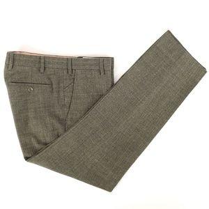 Loro Piana Mainline Cotton Flat Front Pants